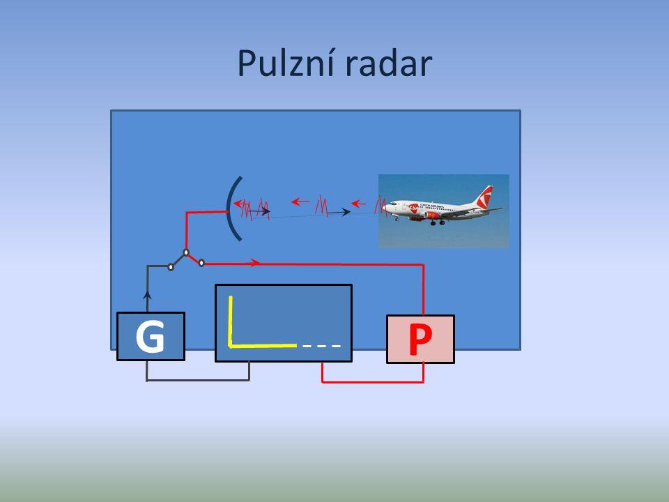Pulzní radar G P