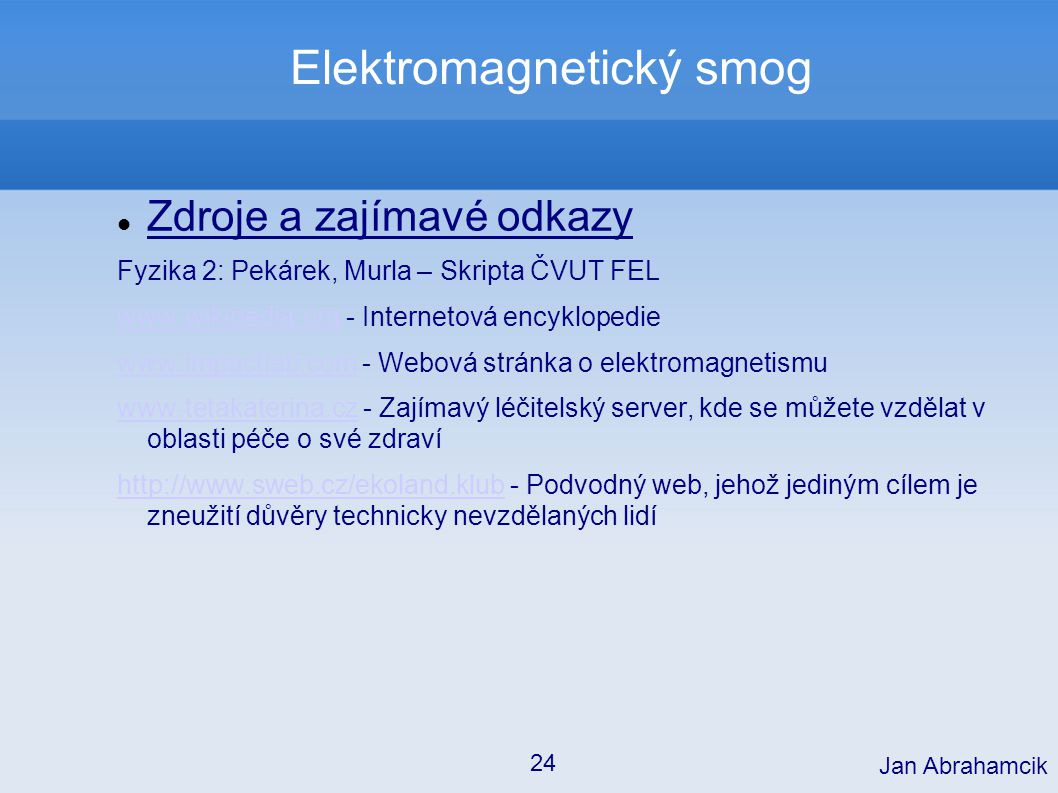 Elektromagnetický smog