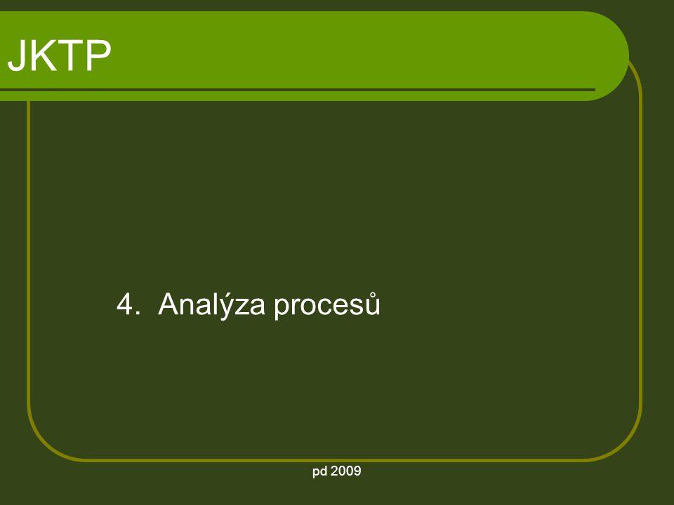 JKTP 4. Analýza procesů pd 2009