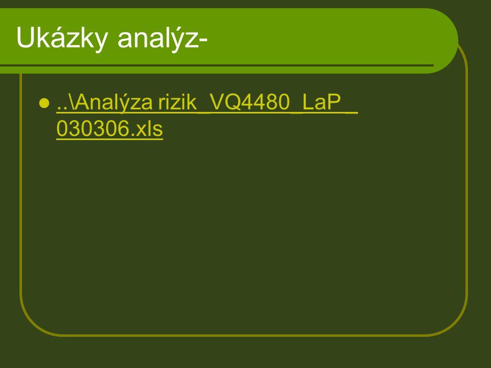 Ukázky analýz- ..\Analýza rizik_VQ4480_LaP _ 030306.xls