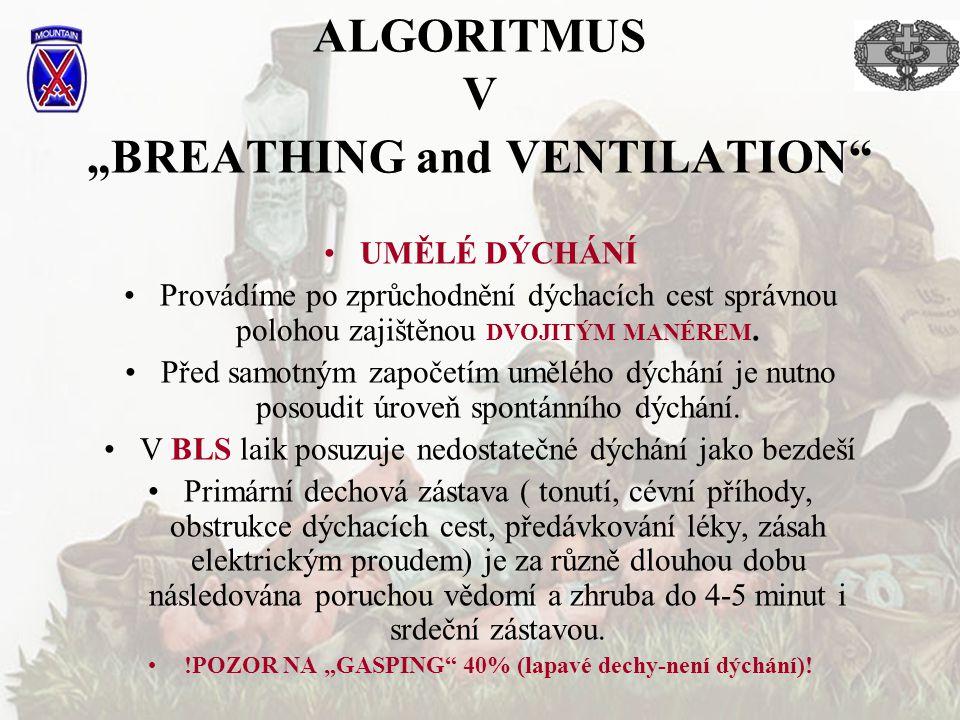 "ALGORITMUS V ""BREATHING and VENTILATION"