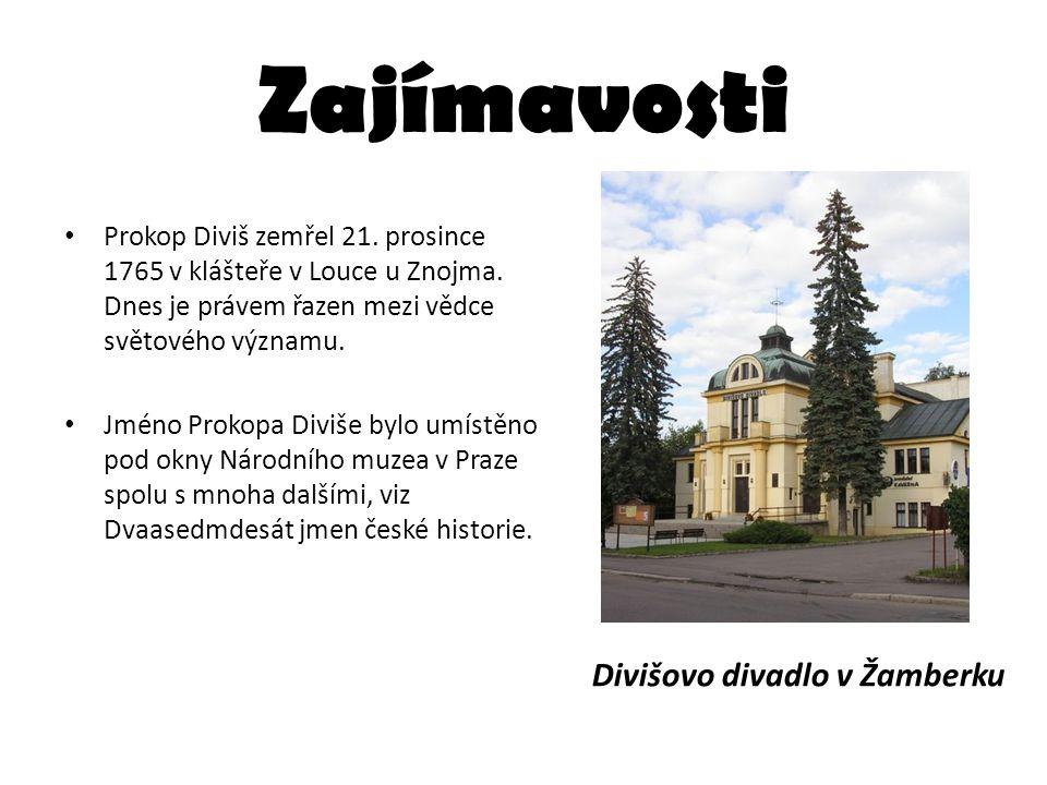 Zajímavosti Divišovo divadlo v Žamberku