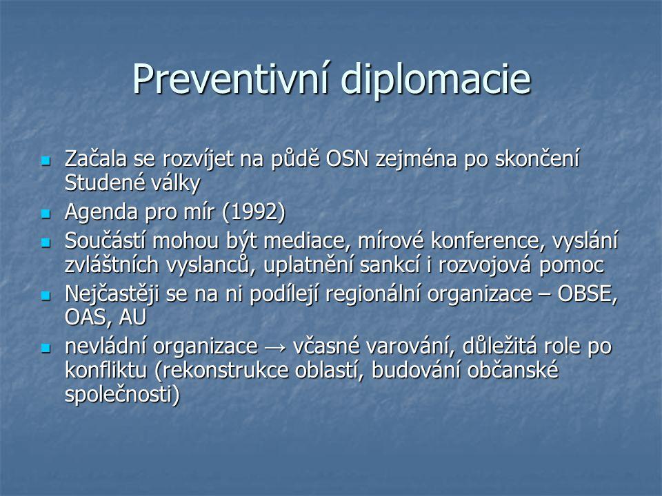 Preventivní diplomacie