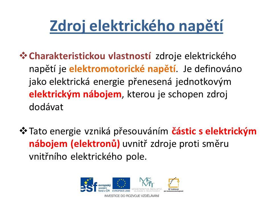 Zdroj elektrického napětí