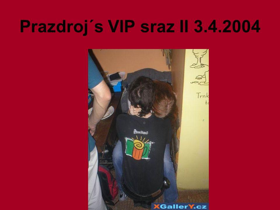 Prazdroj´s VIP sraz II 3.4.2004