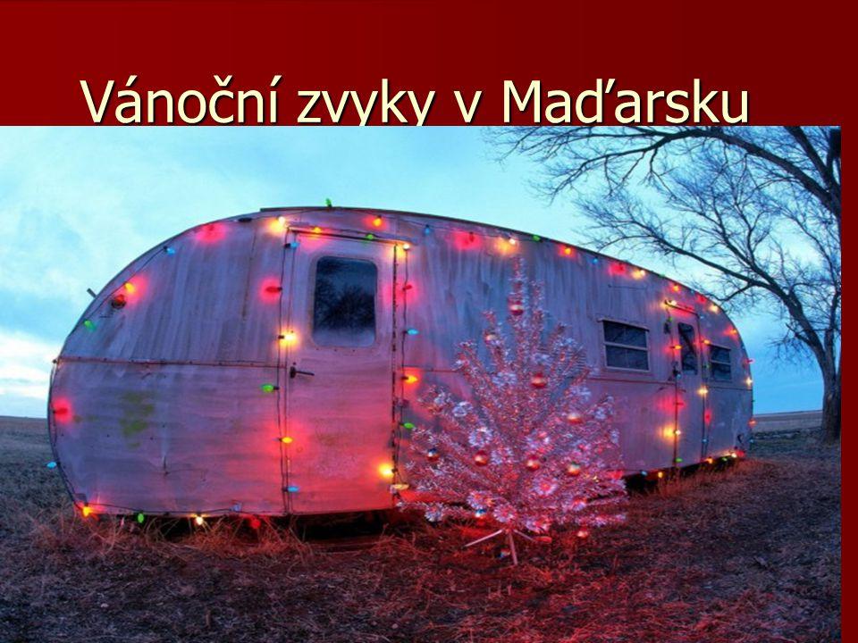 Vánoční zvyky v Maďarsku