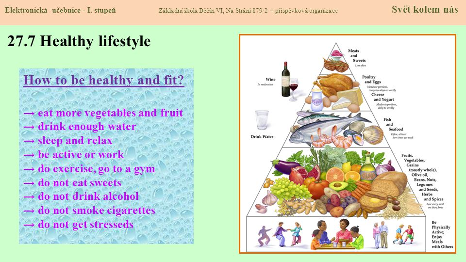 27.7 Healthy lifestyle How to be healthy and fit