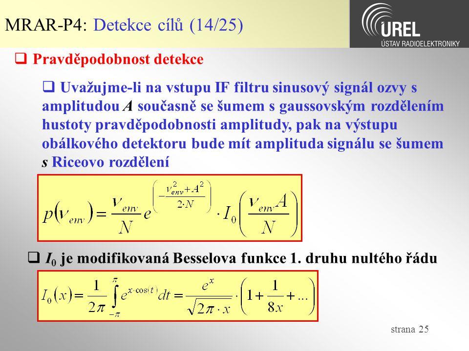 MRAR-P4: Detekce cílů (14/25)