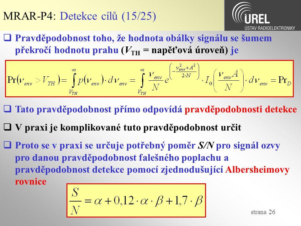 MRAR-P4: Detekce cílů (15/25)