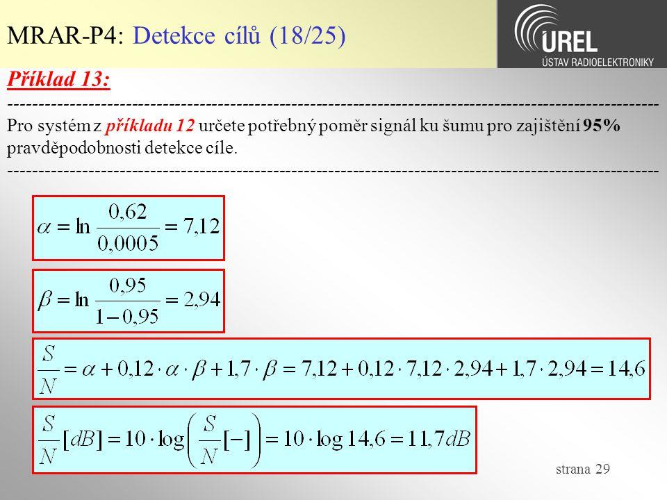 MRAR-P4: Detekce cílů (18/25)