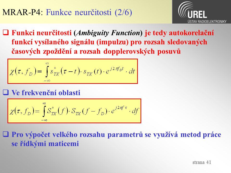 MRAR-P4: Funkce neurčitosti (2/6)