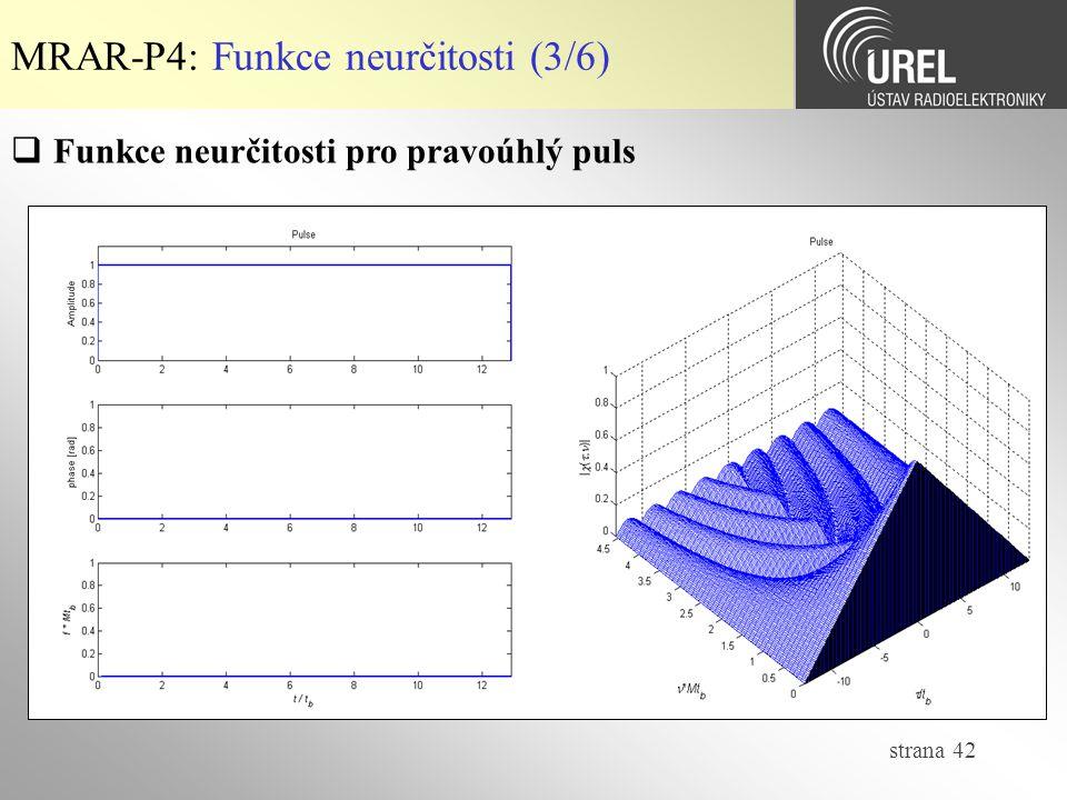 MRAR-P4: Funkce neurčitosti (3/6)