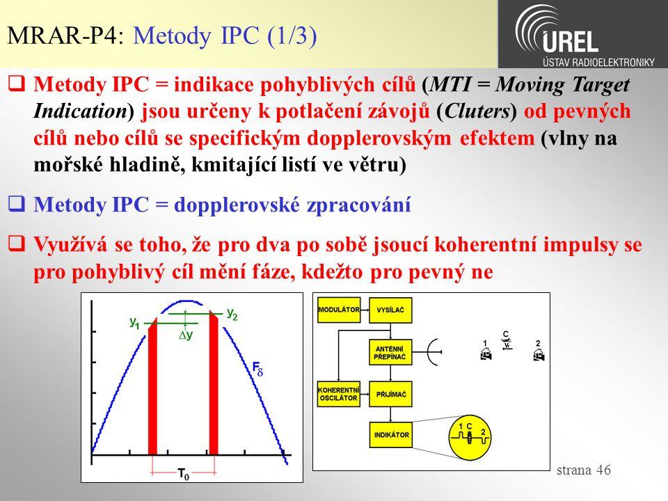 MRAR-P4: Metody IPC (1/3)