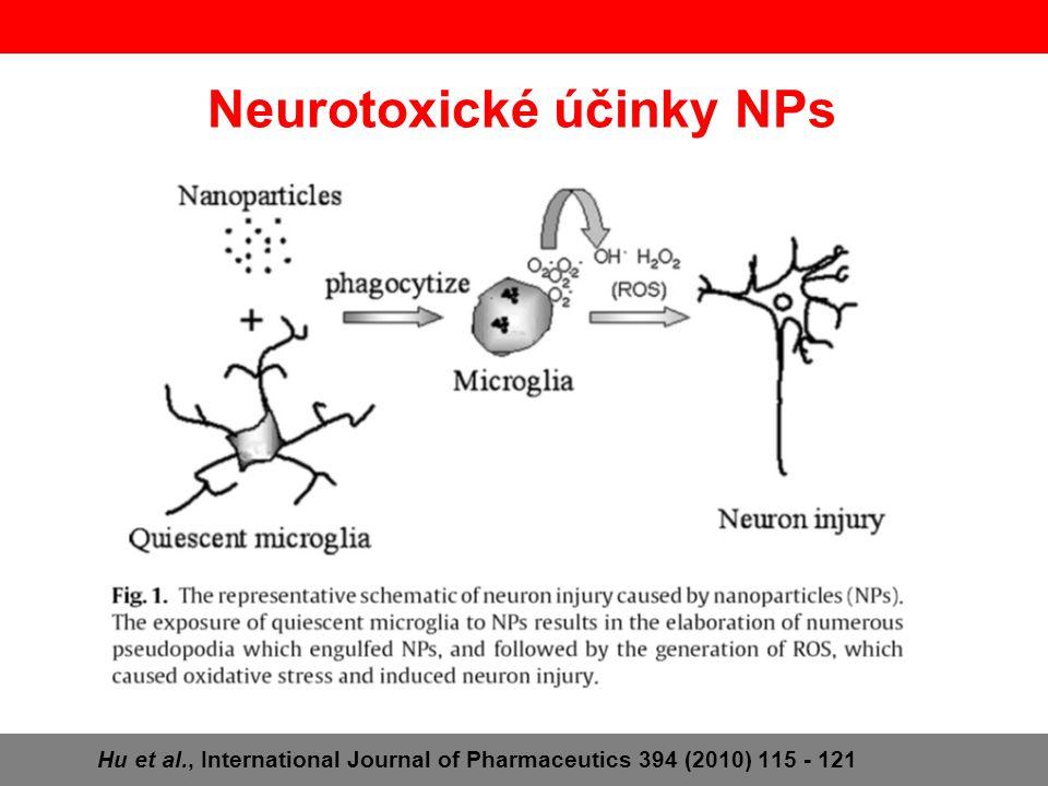 Neurotoxické účinky NPs