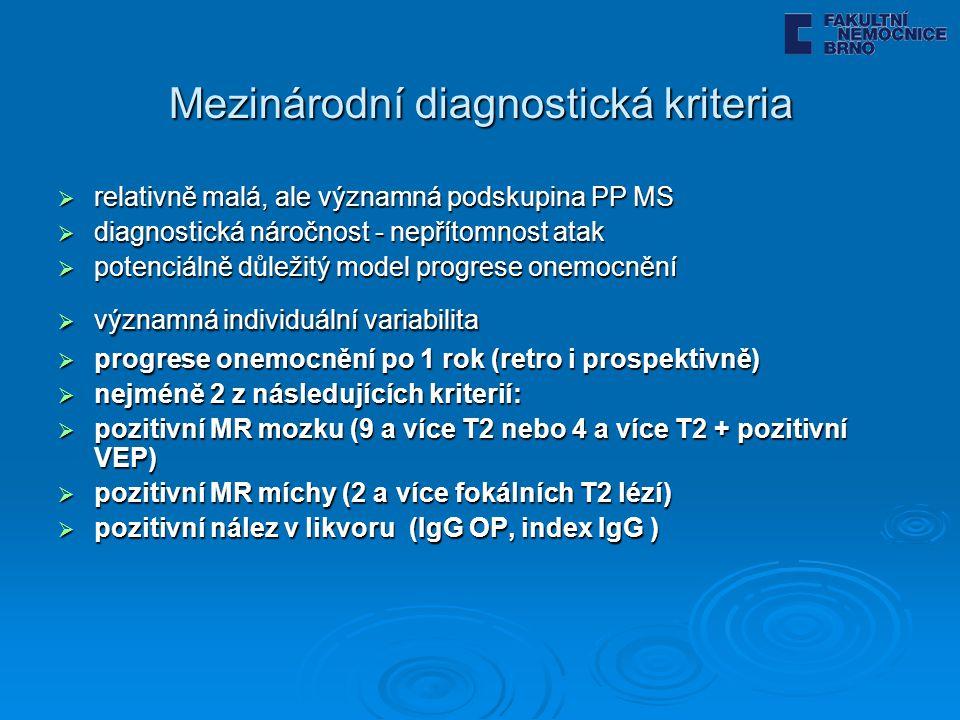Mezinárodní diagnostická kriteria