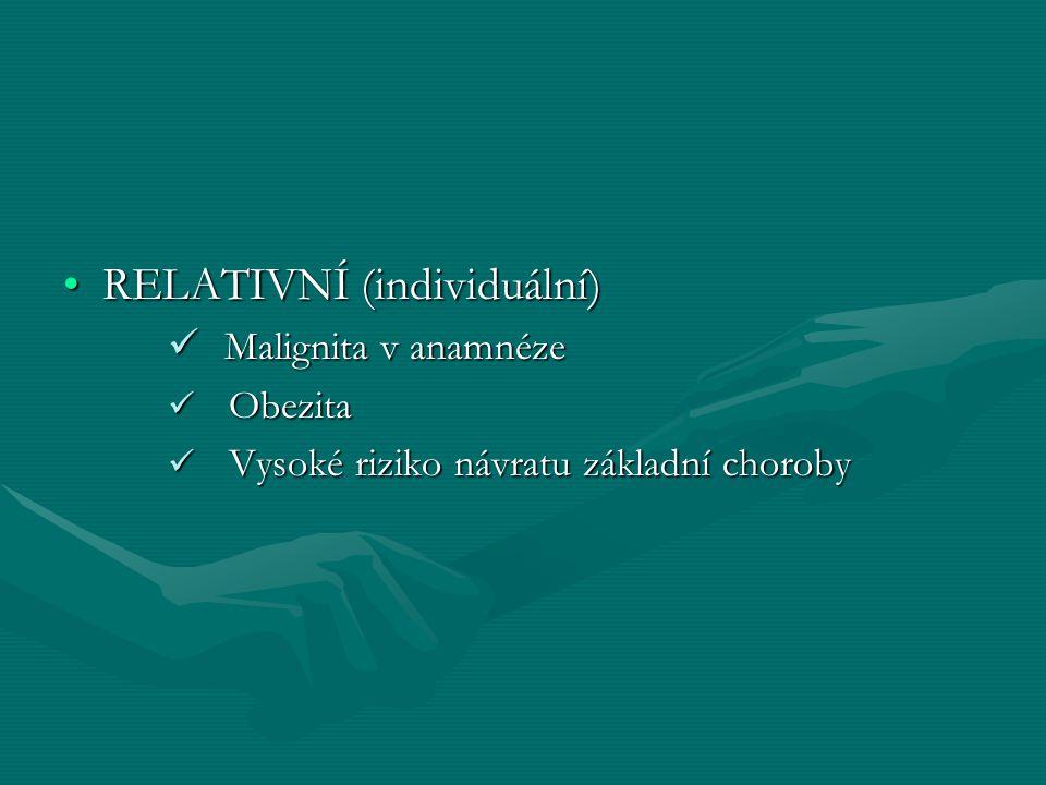 RELATIVNÍ (individuální)