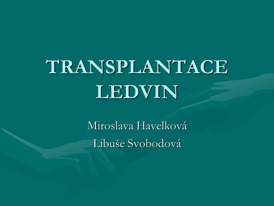 Miroslava Havelková Libuše Svobodová