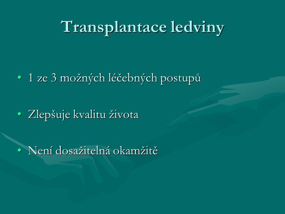 Transplantace ledviny