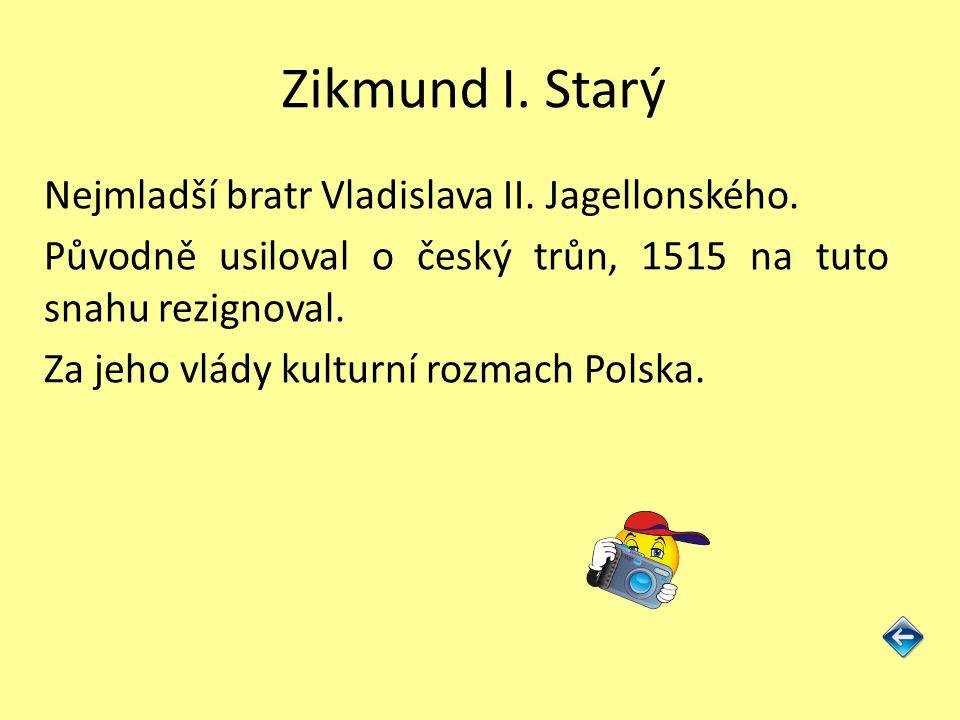 Zikmund I. Starý