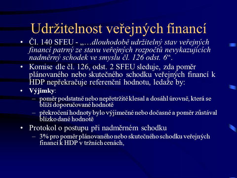 Udržitelnost veřejných financí