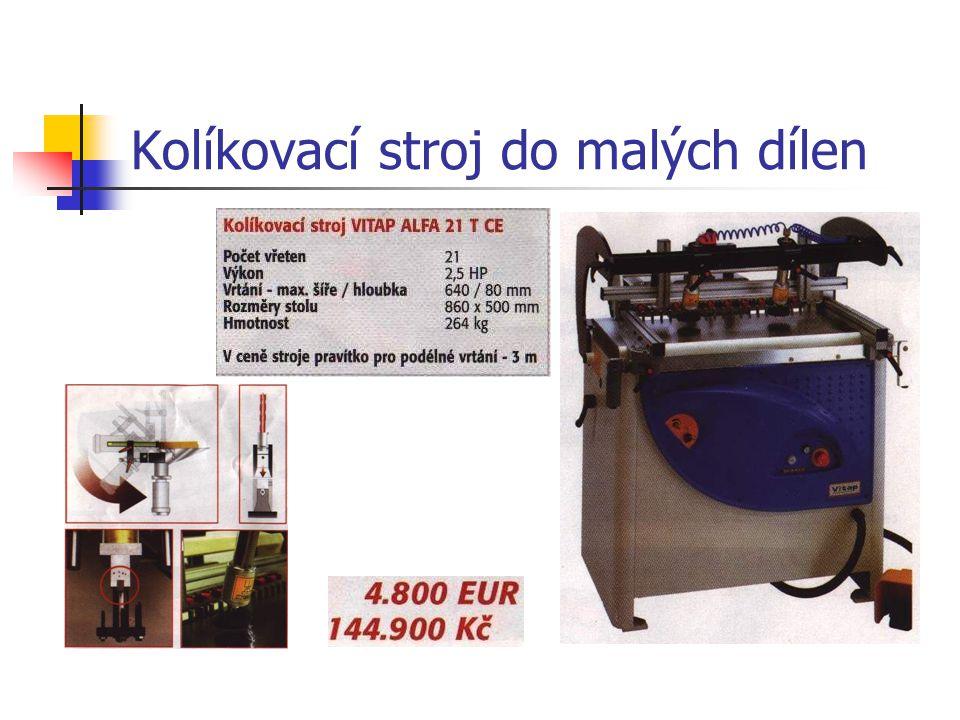 Kolíkovací stroj do malých dílen