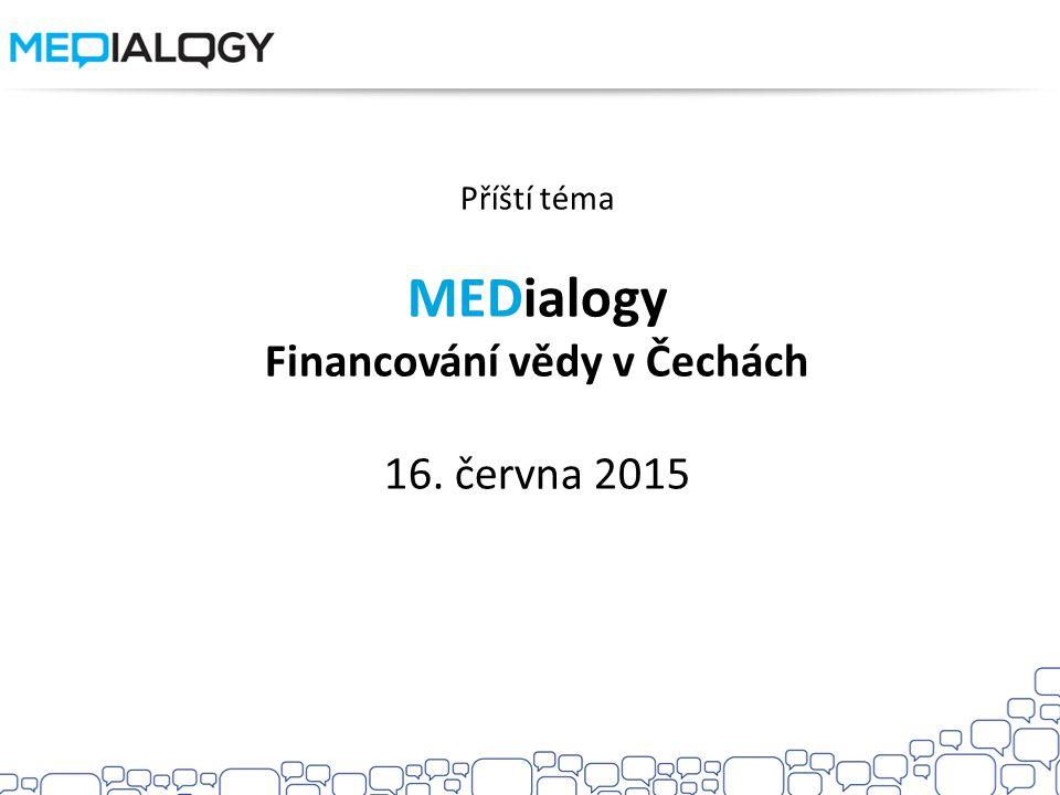 Financování vědy v Čechách