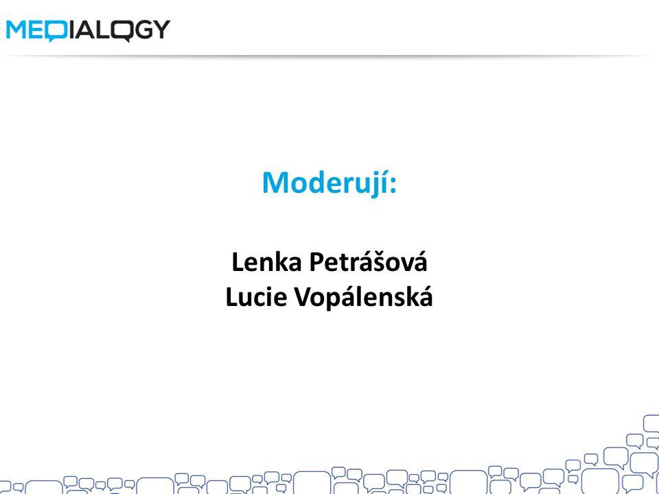 Lenka Petrášová Lucie Vopálenská