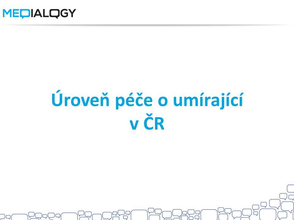 Úroveň péče o umírající v ČR