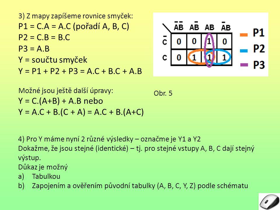 Y = A.C + B.(C + A) = A.C + B.(A+C)