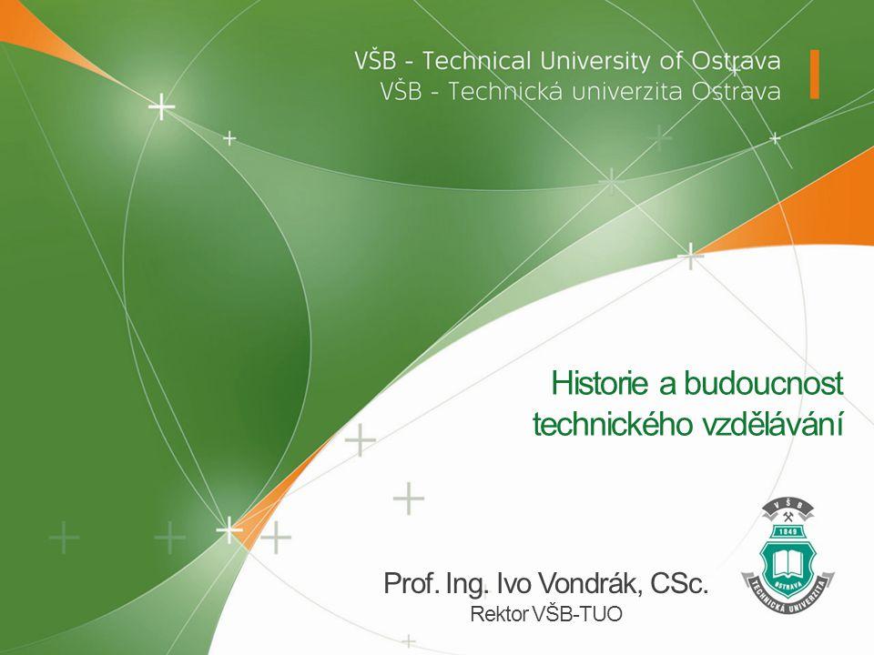 Historie a budoucnost technického vzdělávání