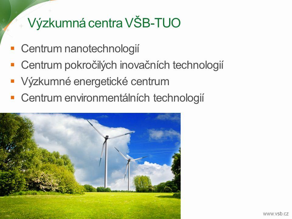 Výzkumná centra VŠB-TUO