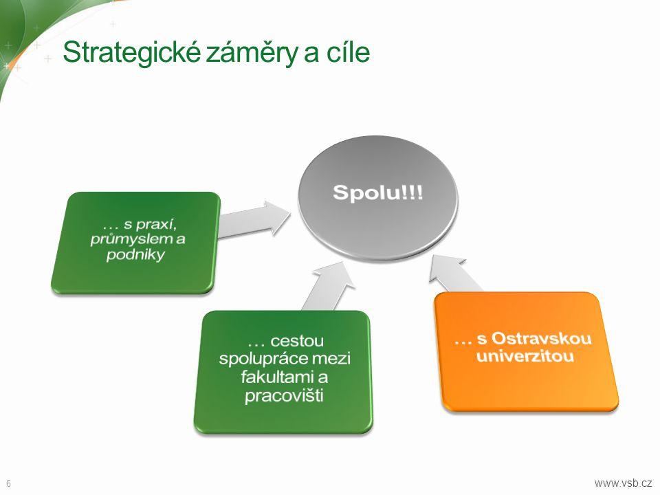 Strategické záměry a cíle