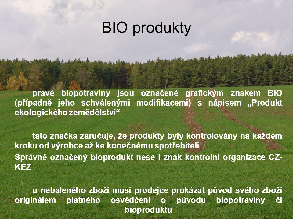 BIO produkty