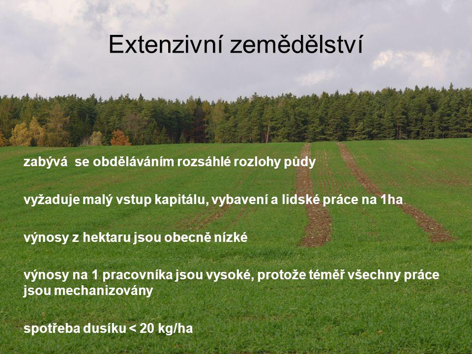 Extenzivní zemědělství