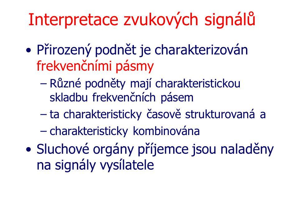 Interpretace zvukových signálů