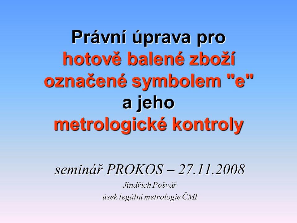 úsek legální metrologie ČMI