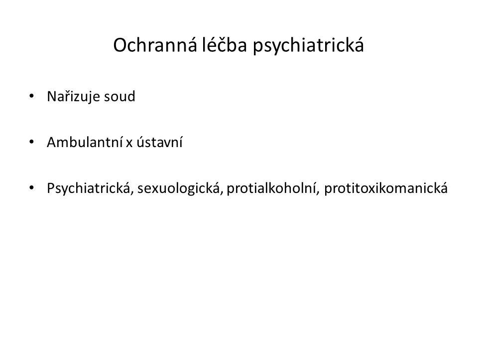 Ochranná léčba psychiatrická