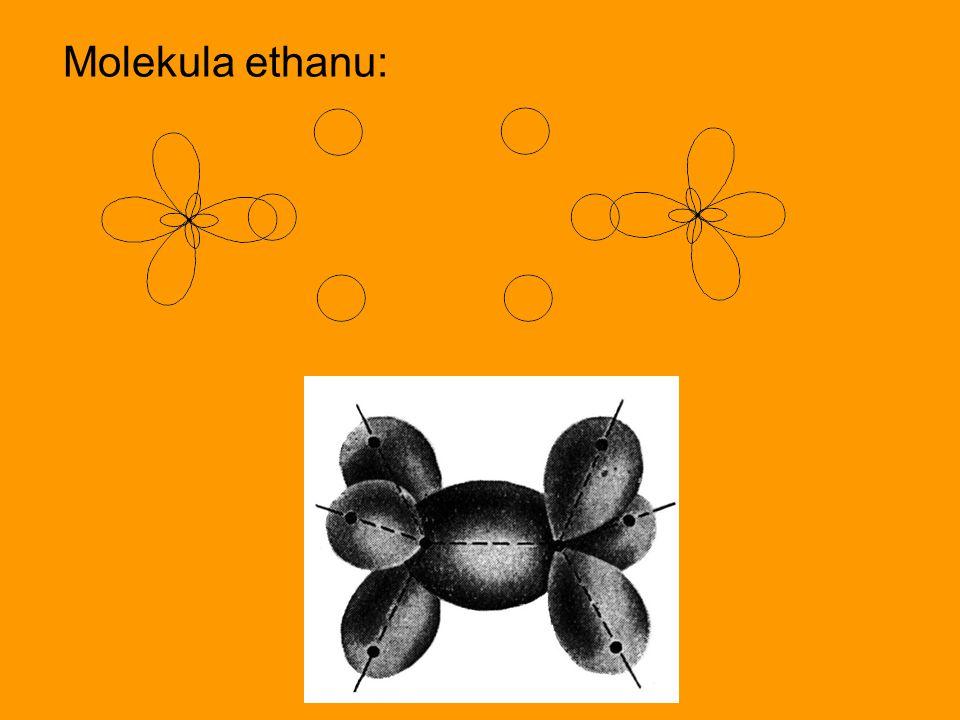 Molekula ethanu:
