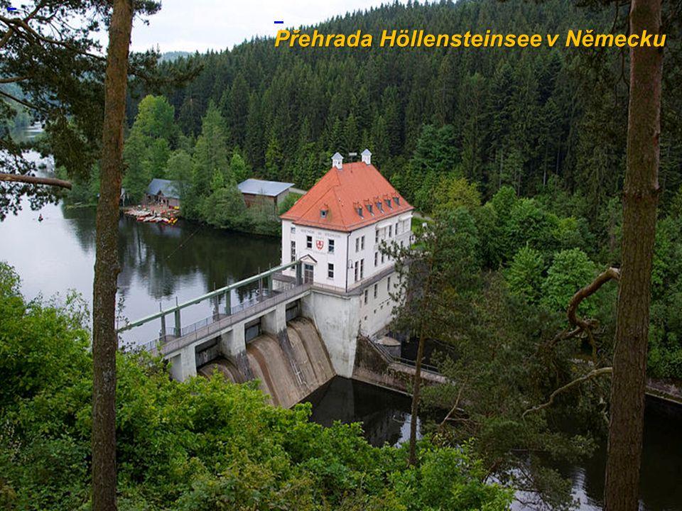 Přehrada Höllensteinsee v Německu