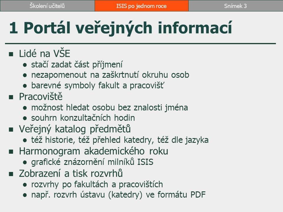 1 Portál veřejných informací