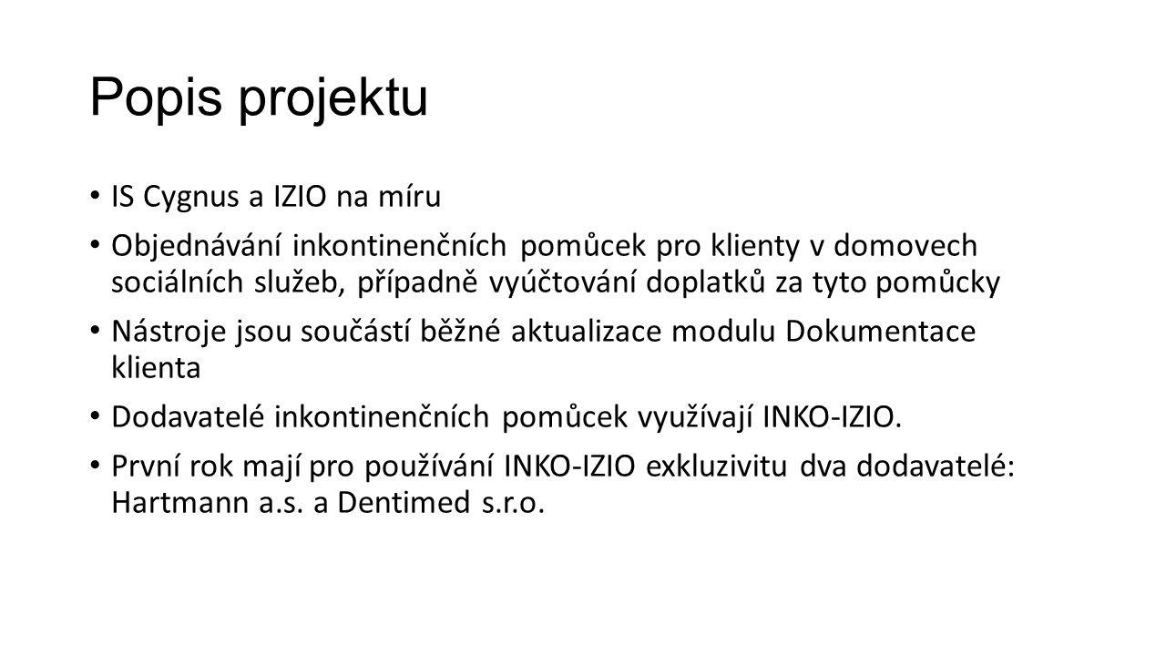 Popis projektu IS Cygnus a IZIO na míru
