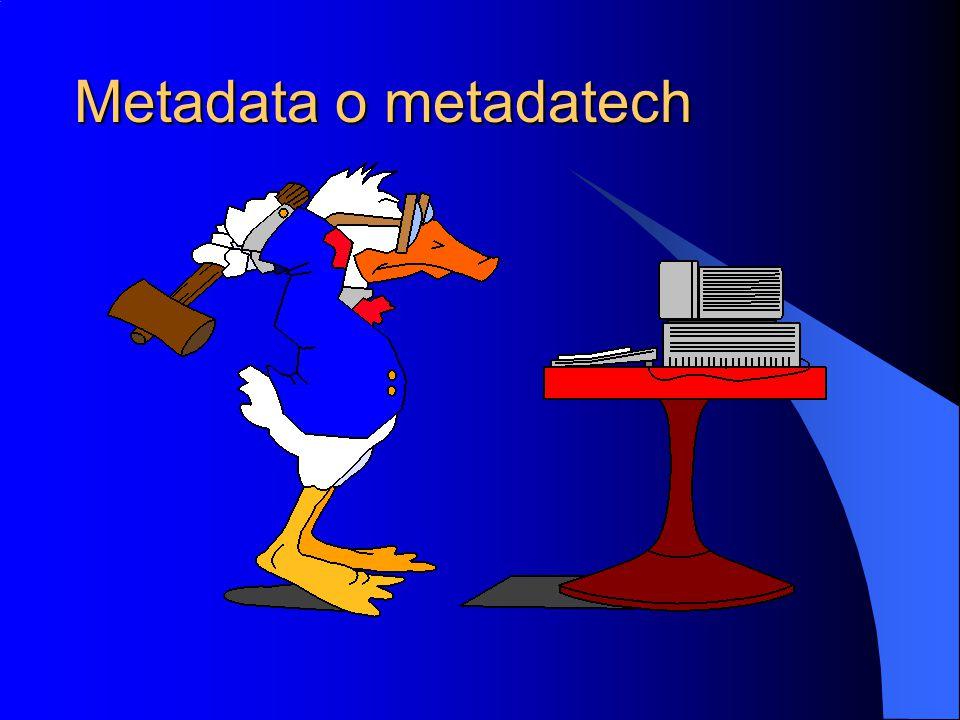 Metadata o metadatech