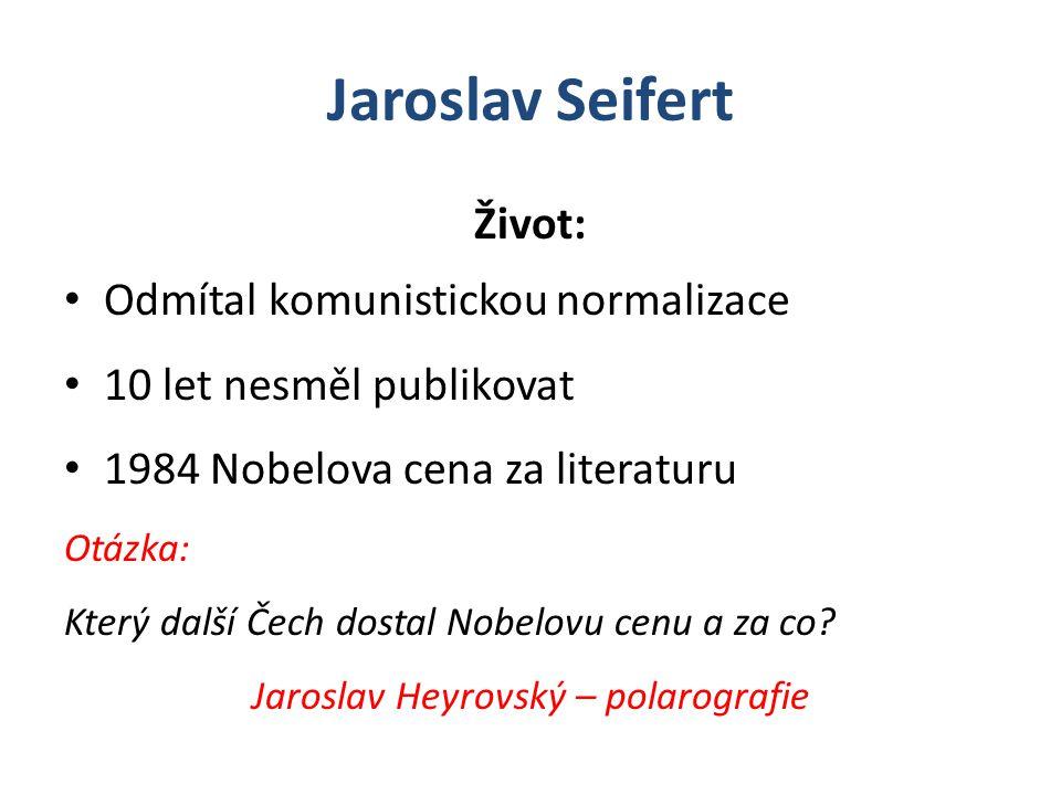 Jaroslav Heyrovský – polarografie