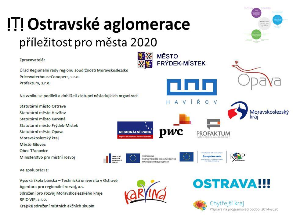Ostravské aglomerace příležitost pro města 2020