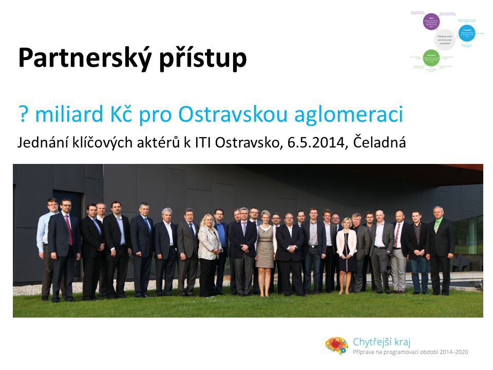 Partnerský přístup miliard Kč pro Ostravskou aglomeraci