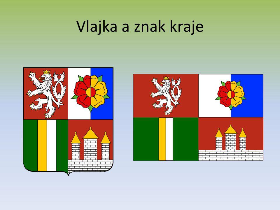 Vlajka a znak kraje