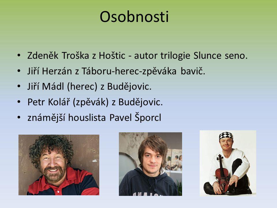 Osobnosti Zdeněk Troška z Hoštic - autor trilogie Slunce seno.