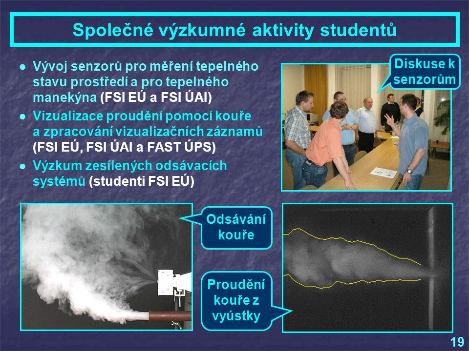 Společné výzkumné aktivity studentů