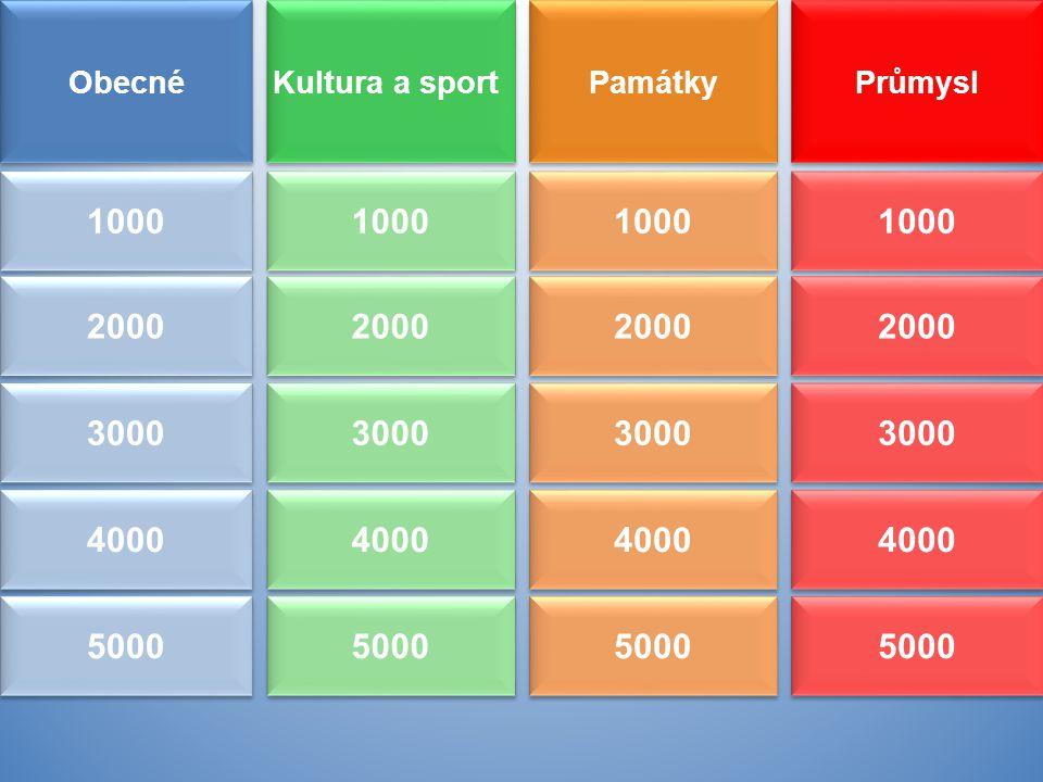 Obecné Kultura a sport. Památky. Průmysl. 1000. 1000. 1000. 1000. 2000. 2000. 2000. 2000.