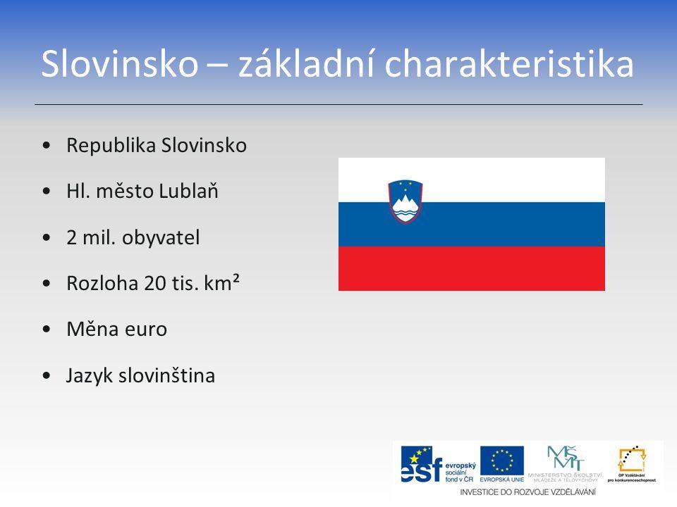 Slovinsko – základní charakteristika